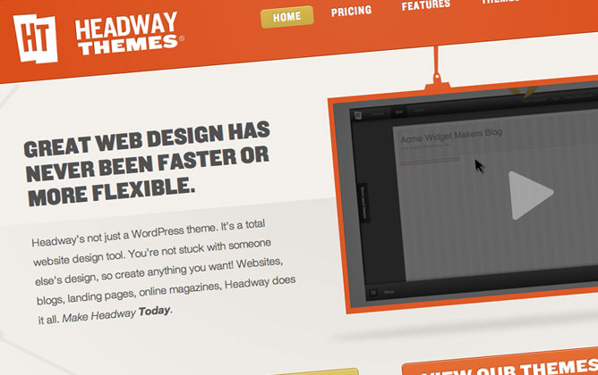 Headway, tema personalizzabile per WordPress
